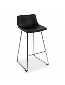 Kitchen stool in black, model Roma