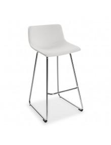 Kitchen stool in white, model Roma
