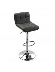 Kitchen stool in black, model Barna