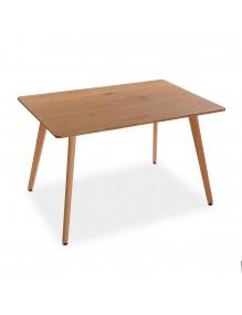 "Wooden table, model ""beech wood"""