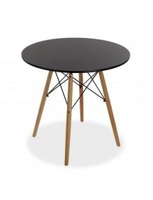 "Wooden table in black, model ""Tensor"""