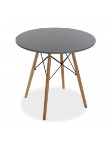 "Wooden table in gray, model ""Tensor"""
