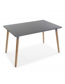 """Mesa de madera en color gris, modelo """"Zeus"""""""