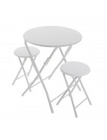 Juego de mesa y 2 sillas, modelo Dublín