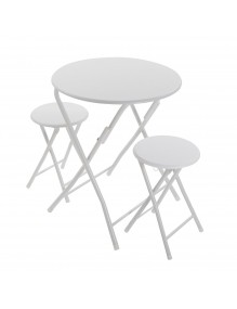 Set of table and and 2 chairs, model, Dublin
