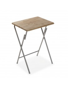 """Folding side table, model """"Eco - Brown"""""""