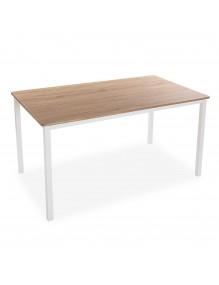 Mesa de madera, modelo Blanco 76x140x80 cm
