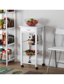 Kitchen cabinet with 1 drawer and 2 shelves, model Kit
