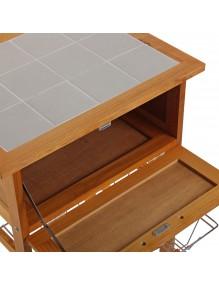 Mueble de cocina con 1 cajón y 3 estantes, modelo Kit