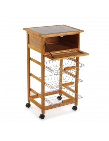 Kitchen cabinet with 1 drawer and 3 shelves, model Kit