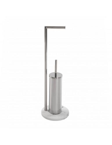 """Roll and toilet brush holder, model """"Line"""""""
