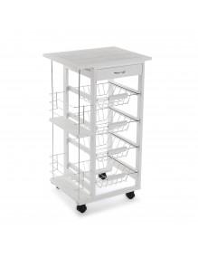 Küchenmöbel mit 1 Schublade und 4 Regalen, Modell Kit