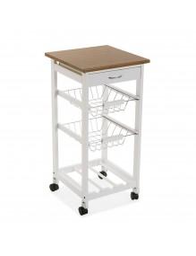 """Mueble de cocina con 2 estantes, un cajón y zona botellero, modelo """"kitchen"""""""