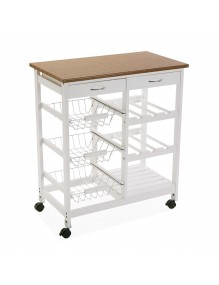 Auxiliary multipurpose kitchen cabinet, model MDF