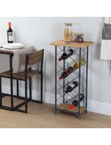 Auxiliary bottle rack for 18 bottles