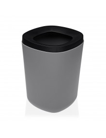 Polypropylene waste paper bin. 8 Litres (Gray)
