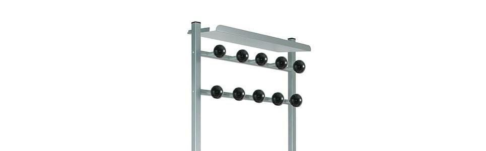 ▷ Mobile coat stand ✅ Coat Racks ✅ Wall-mounted rack