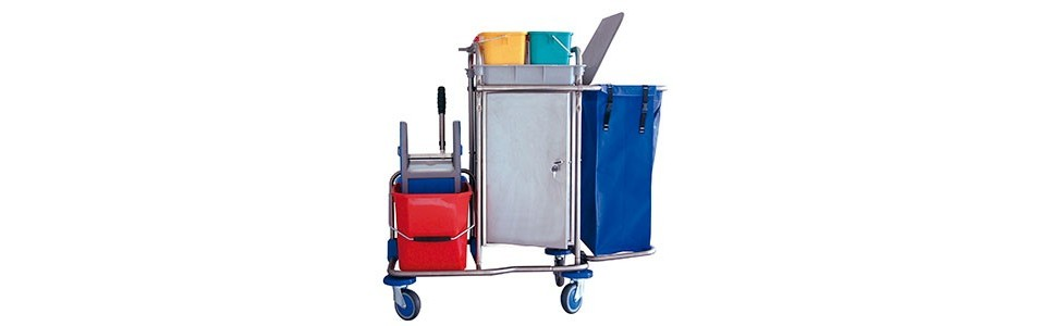 ▷ Cleaning Trolleys ✅ The best prices